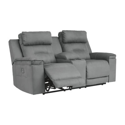 Signature Design by Ashley® Trampton Power Reclining Loveseat with Console