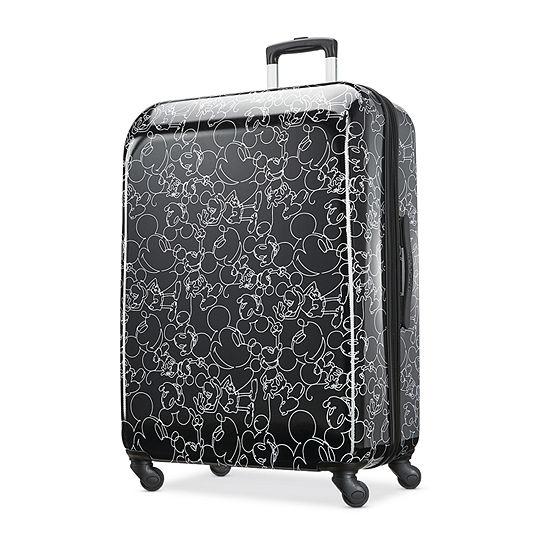 American Tourister Disney Mickey Scribbler 28 Inch Hardside Lightweight Luggage
