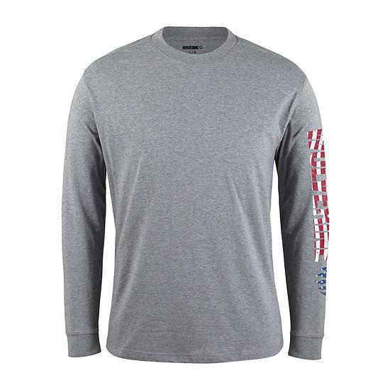 Wolverine Logo Long Sleeve T Shirt