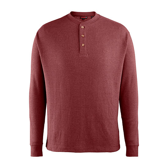 Wolverine Mens Long Sleeve Henley Shirt - Big and Tall