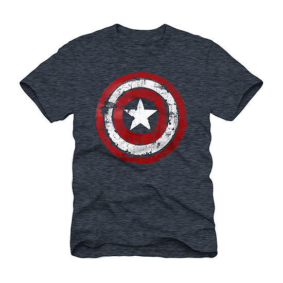 Mens Captain America Graphic T-Shirt