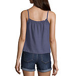 Arizona Juniors Womens Sleeveless Tank Top