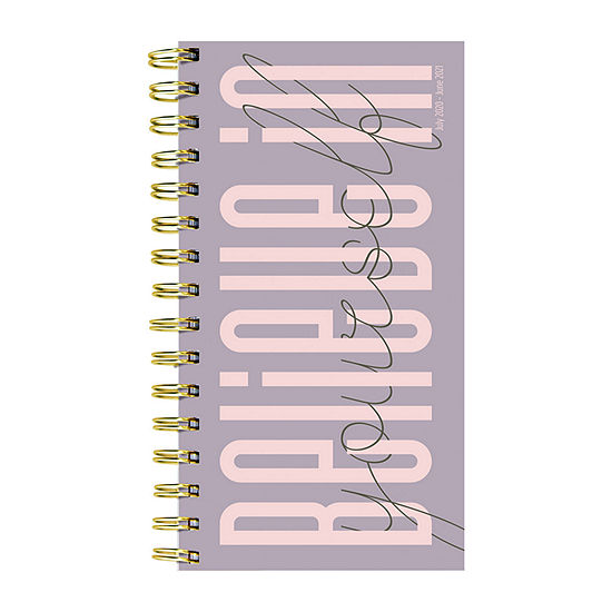 "Tf Publishing July 2020 - June 2021 Believe In Yourself Small 3.5"" X 6.5"" Daily Weekly Monthly Planner"