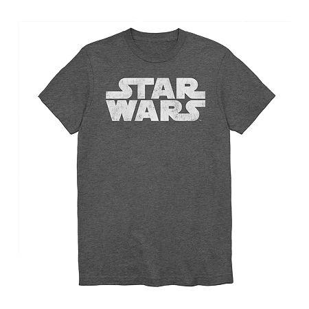 Mens Star Wars Graphic T-Shirt, X-large , Gray