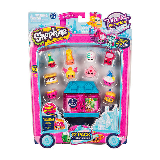 Shopkins - Series 8-12 Pack Wave 3 - Colors and Styles Will Vary
