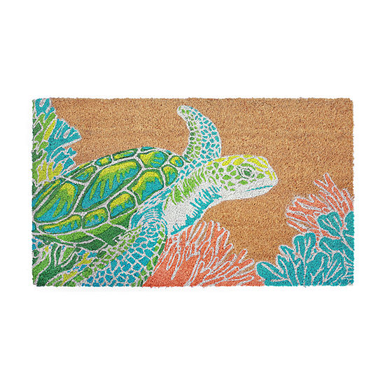 Liora Manne Natura Seaturtle Indoor/Outdoor Mat