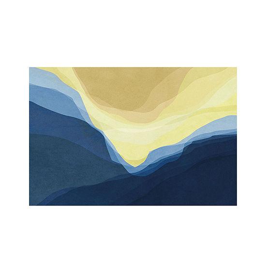 Masterpiece Art Gallery 24x36 Mountain Outdoor Canvas Art