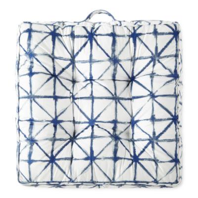 Home Expressions California Cruisin Tie Dye Floor Pillows