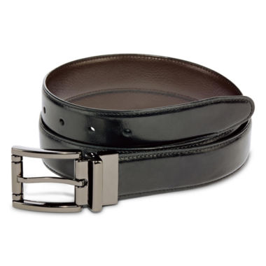 Stafford® Reversible Leather Belt–Big & Tall