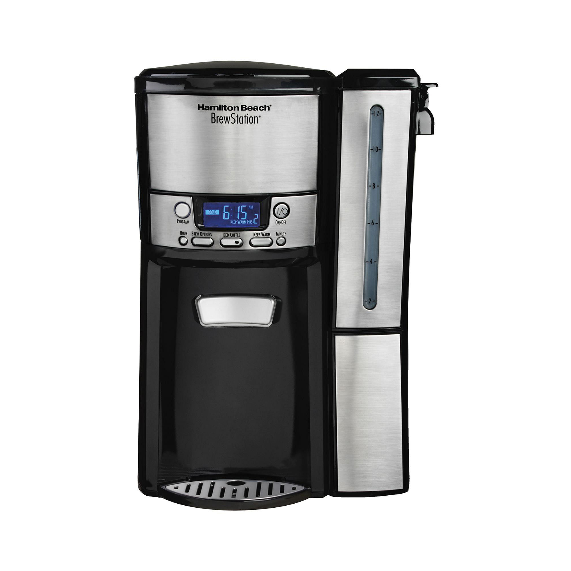 Hamilton Beach 12-Cup BrewStation Dispensing Coffee Maker with Removable Reservoir