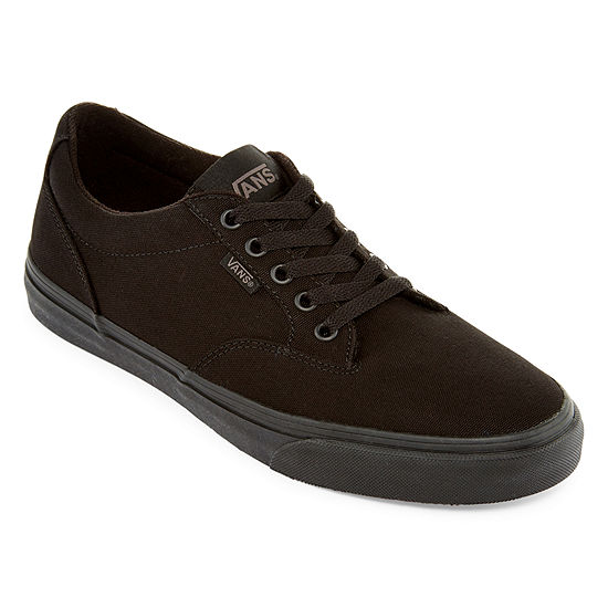 a63c12f3e7 Vans Winston Mono Canvas Fashion Sneaker