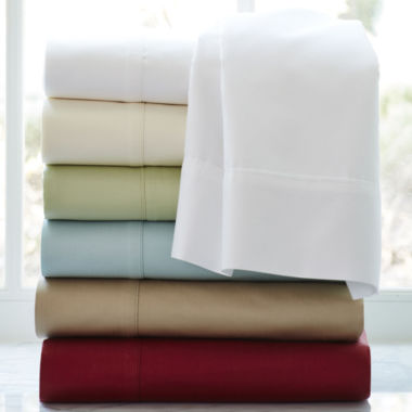 jcpenney.com | American Heritage 500tc Cotton Sateen Solid Sheet Set