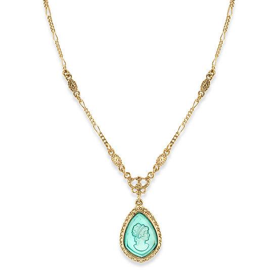 1928 16 Inch Figaro Pendant Necklace