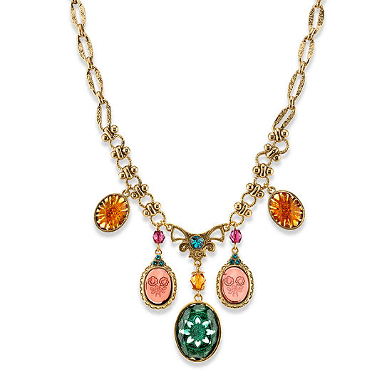 1928 16 Inch Casted Statement Necklace