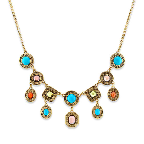 1928 16 Inch Link Statement Necklace