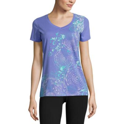 Made For Life Short Sleeve V Neck T-Shirt - Tall