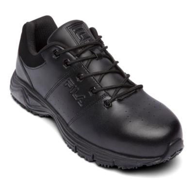 Fila® Memory Breach Mens Steel Toe Slip Resistant Work Shoes