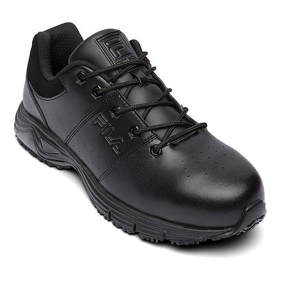 4290ab28ea89 Fila® Memory Breach Mens Steel Toe Slip Resistant Work Shoes - JCPenney