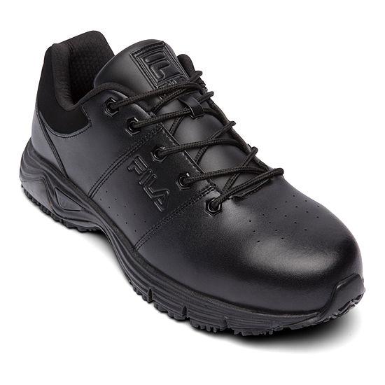 Fila Memory Breach Slip Resistant Steel Toe Low Mens Sneakers
