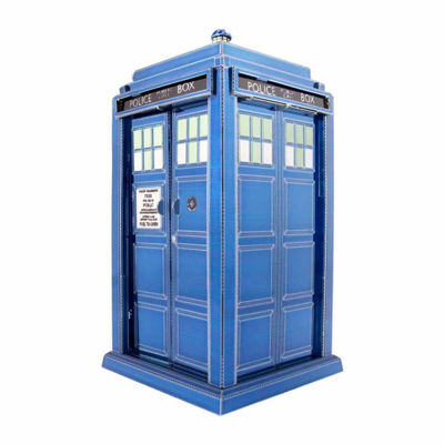 Fascinations Metal Earth 3D Laser Cut Model - Dr.Who Tardis