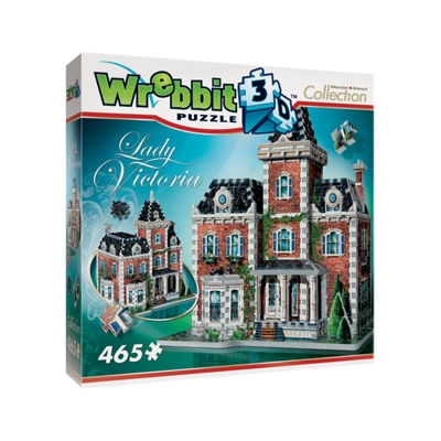 Wrebbit Mansion Collection - Lady Victoria 3D Puzzle: 465 Pcs