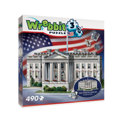 Wrebbit The White House 3D Puzzle: 490 Pcs