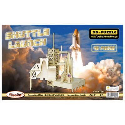 Puzzled Shuttle Launch