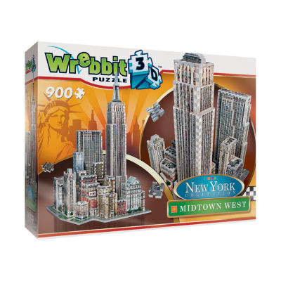 Wrebbit New York Collection - Midtown West 3D Puzzle: 900 Pcs