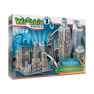 Wrebbit New York Collection - Midtown East 3D Puzzle: 875 Pcs