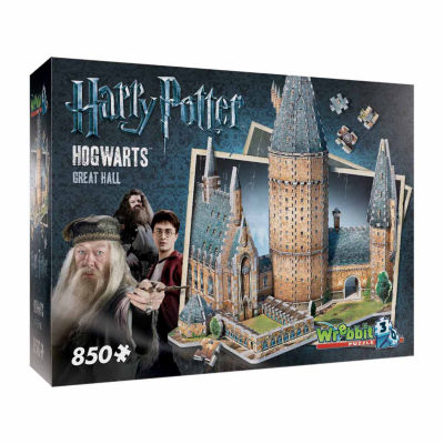 Wrebbit Harry Potter Collection - Hogwarts - GreatHall 3D Puzzle: 850 Pcs