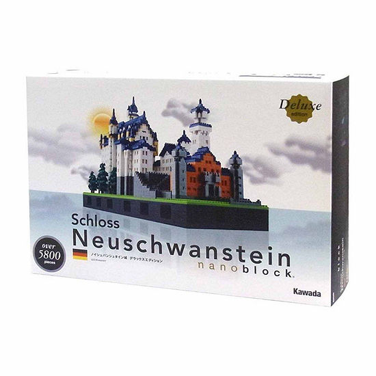 Ohio Art Nanoblock Deluxe Edition Level 7 Schloss Neuschwanstein 5800 Pcs