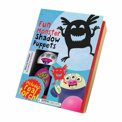 House of Marbles Fun Monster Shadow Puppets