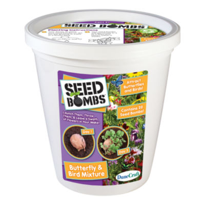 Dunecraft Seed Bomb Bucket - Butterfly & Bird Mixture