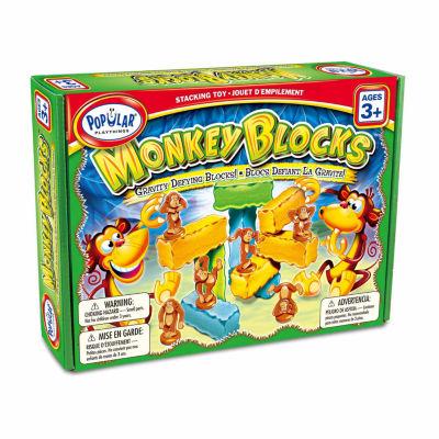 Popular Playthings Monkey Blocks