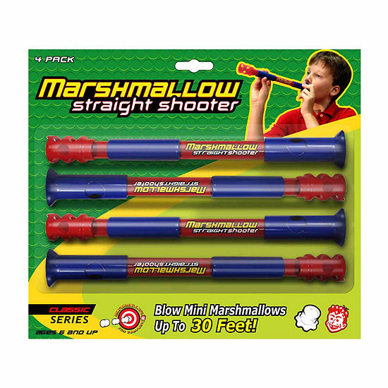 Marshmallow Fun Company Marshmallow Classic Straight Shooter 4 Pack