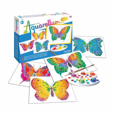 SentoSphere USA Aquarellum Junior - Butterflies