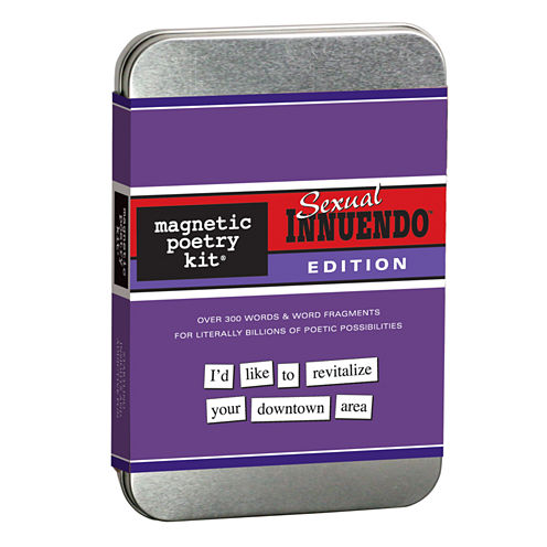 Magnetic Poetry Magnetic Poetry Kit: Sexual Innuendo
