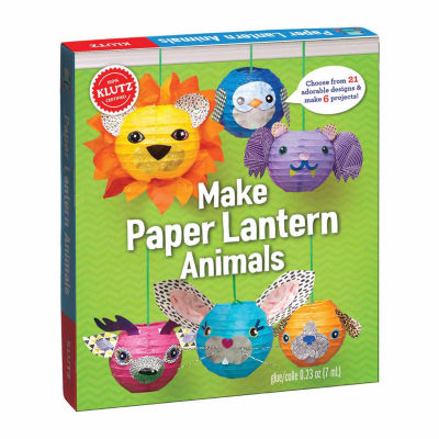 Klutz Make Paper Lantern Animals