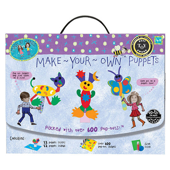 Made By Hands Make-Your-Own Puppets
