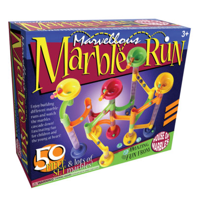 House of Marbles Marvellous Marble Run - 50 PieceSet