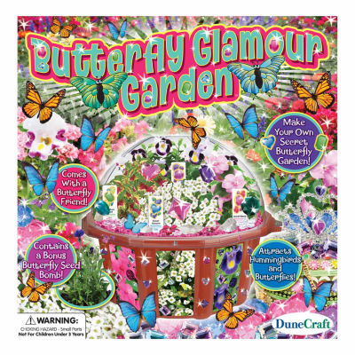 Dunecraft Dome Terrarium - Butterfly Glamour Garden