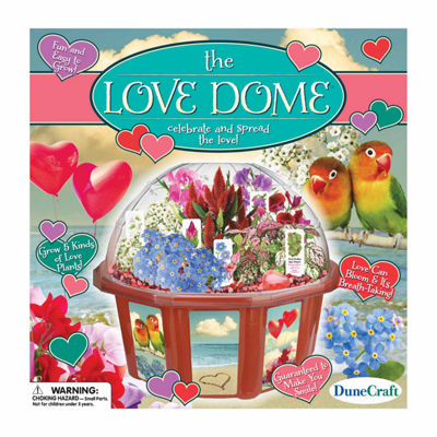 Dunecraft Dome Terrarium - The Love Dome