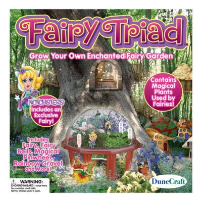 Dunecraft Dome Terrarium - Fairy Triad