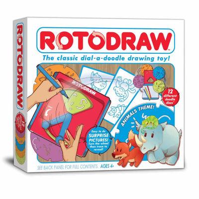 Kahootz Toys Rotodraw Activity Kit - Animals