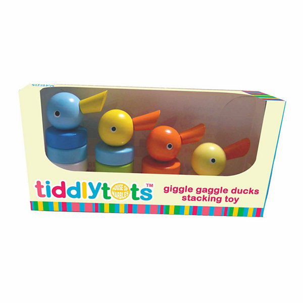 House of Marbles TiddlyTots Giggle Gaggle Ducks Stacking Toy