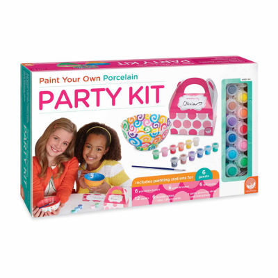 MindWare Paint Your Own Porcelain Party Kit