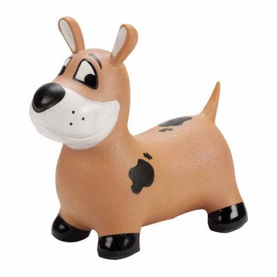 "MegaFun USA Bounce-A-Long Buddies - ""Buster"" the Dog"""