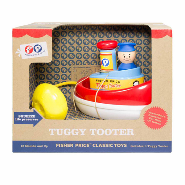 Basic Fun Fisher-Price Classics Tuggy Tooter