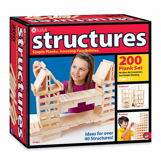MindWare KEVA Structures - 200 Plank Set