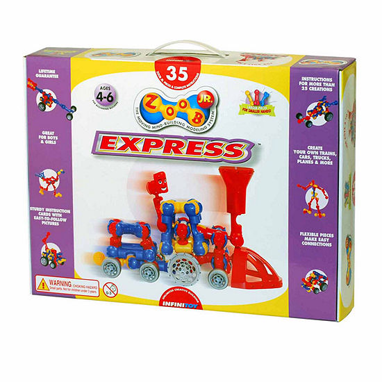Infinitoy ZOOB Jr Express Train Set